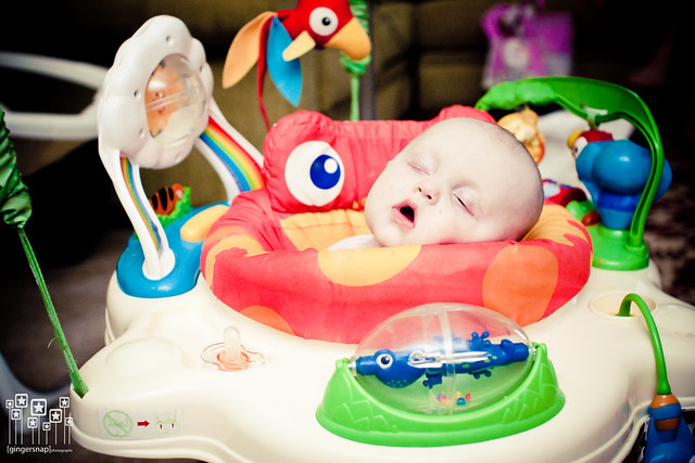 jumperoo sleeper