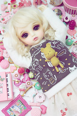 \(*_*)/ (Cyristine) Tags: pink ball miniatures doll bjd rement volks lorina jointed yosd nendoroid