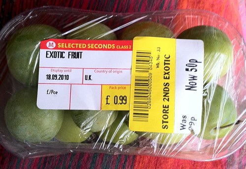 Greengages exotic?