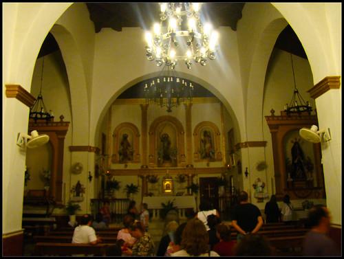 Interior Iglesia de San Miguel