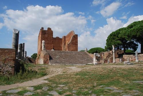 Ostia Antica - Capitolium