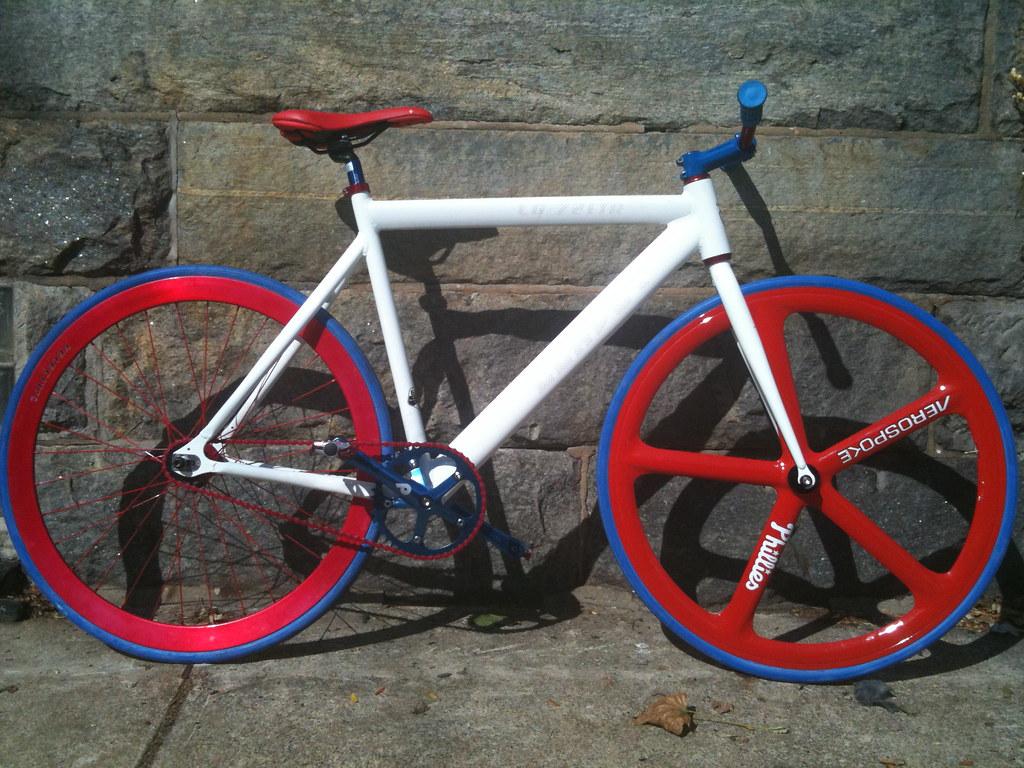 Custom Fixed Gear Bike