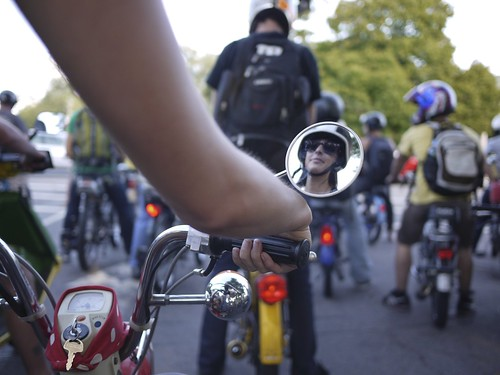 Kimberly LaFoy » Blog Archive » Moped Rally