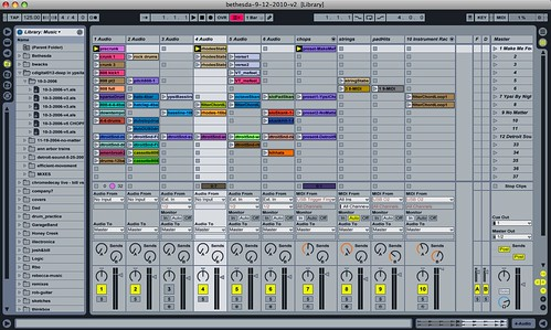 Bill Van Loo - Ableton Live set