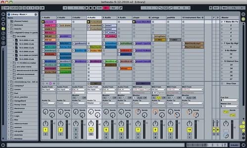 Bill Van Loo - Ableton Live set