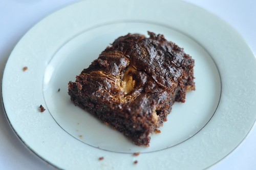 Chocolate-Peanut Butter Brownies