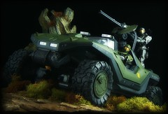 McFarlane Halo Reach - Warthog [with Light Anti-Aircraft Gun] (Ed Speir IV) Tags: light game toy toys actionfigure video gun steel olive halo xbox armor microsoft figure vehicle videogame reach figures spartan warthog antiaircraft mcfarlane hazop