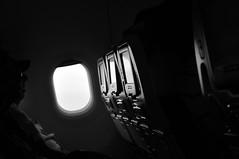 Silhouettes & Window B&W (CAUT) Tags: sky window silhouette cali plane airplane ventana nikon bogota aircraft seat aviation flight septiembre cielo silueta bog flugzeug avin avion 2010 clo aviacin aviacion avianca d90 caut skbo nikond90 skcl vuelodeavianca vueloav9214 av9214