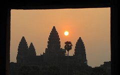 Angkor Wat Sunrise From Temple