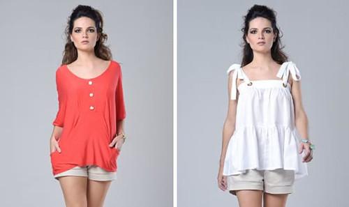 blusas tendências para o verão
