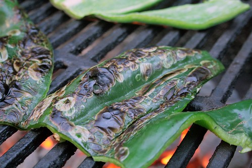 Grilled poblano