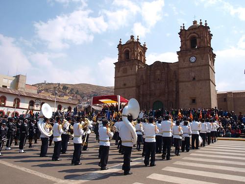 Puno - Plaza de Armas (2)