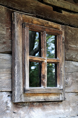 Windows Genuine (Adrian_DOF) Tags: wood church window glass romania prahova nikond90 windowsgenuine jercalai nikon18105mmf3556gafsvr