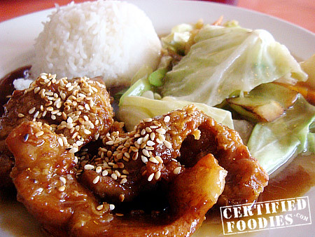 Best Friends - Pork Teriyaki with Chopsuey Side dish - CertifiedFoodies.com