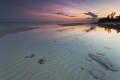 Pelican Point sunset - Grand Bahama Island (D Breezy - davidthompsonphotography.com) Tags: travel sunset vacation clouds canon sand rocks patterns sandbar pastels tropical bahamas freeport tidepools atlanticocean grandbahamaisland 1740l pelicanpoint 1740mml 3stophardedge singhrayfilter 5dmarkii canon5dmarkii