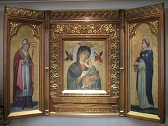 The Our Lady of Perpetual Succour icon (late 19th century) (RETRO STU) Tags: ireland religiousicons catholicchurches stdominic ourladyofperpetualhelp foxrock churchofourladyofperpetualsuccour ourladyofperpetualsuccour redemptorists dublin18 stalphonsusliguori triptychicons redemptoristorder fatherjohnryanpp