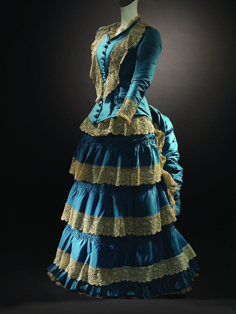 Vestido de boda del siglo 19