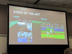 Sportvision augmented reality session at GTC