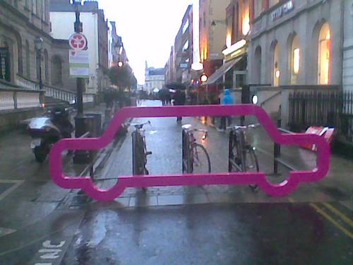 Fancy road barrier for bikes