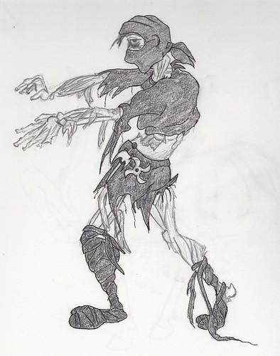 Zombie Ninja Warrior