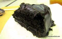 Choco Fudge Cake Slice