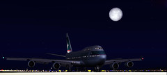 Arriving into EDDF (aViaTioNuT) Tags: cx screenshots boeing b747 tup flightsimulator fsx 744 cpa coth cathaypacificairways supershot abigfave diamondclassphotographer flickrdiamond theunforgettablepictures rubyphotographer coth5