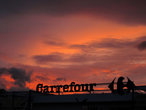 The Carrefour at Sunset
