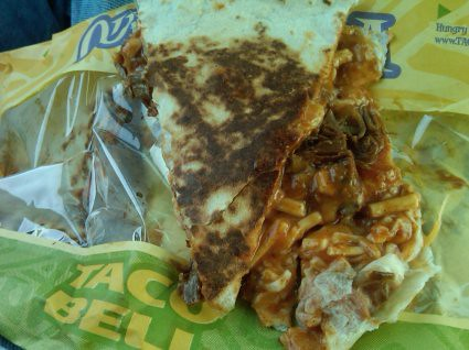 Barbacoa Quesadilla from Taco Bell