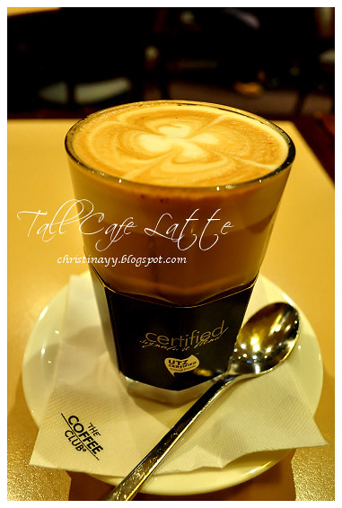 The Coffee Club: Tall Cafe Latte (Hot)