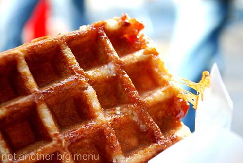 Belgian waffle - Oxford St.