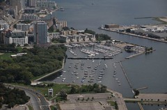 Aerial view of National Yacht Club #1
