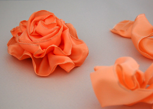 Ribbon Rose Corsage