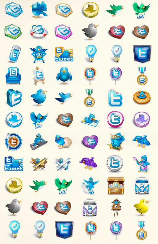 Twitter Vector icons
