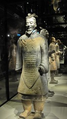Chinese terracotta soldier (catarina.berg) Tags: china sculpture history archaeology sweden stockholm terracotta exhibition clay soldiers sverige tunnels stasiatiskamuseet museumoffareasternantiquities chineseterracottaarmy