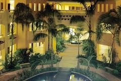 Barcelo Maya Palace (ksbuehler) Tags: mexico shift cancun tilt mamiya645 mirex m645 barcelomayapalace 35mmf35n