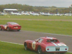 Door shut, off they go (74Mex) Tags: jean atmosphere ferrari marc bobby tt goodwood 250 2010 revival rahal gounon gto64