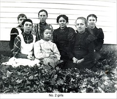School No.2 Girls in Dublin New Hampshire (Keene and Cheshire County (NH) Historical Photos) Tags: school girls students schoolchildren dublinnh dublinnewhampshire no2school maryerobbe
