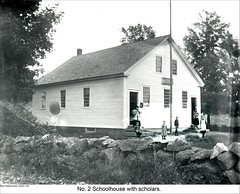 School No.2 in Dublin New Hampshire (Keene and Cheshire County (NH) Historical Photos) Tags: school students stonewall schoolchildren dublinnh dublinnewhampshire no2school maryerobbe
