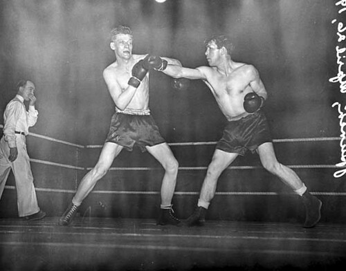 Prize Fight, Minneapolis, 1940