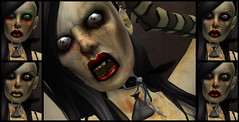 Zombina Brainlicker (MiaSnow) Tags: october zombie sl secondlife zombina miasnow huntofthelivingdead