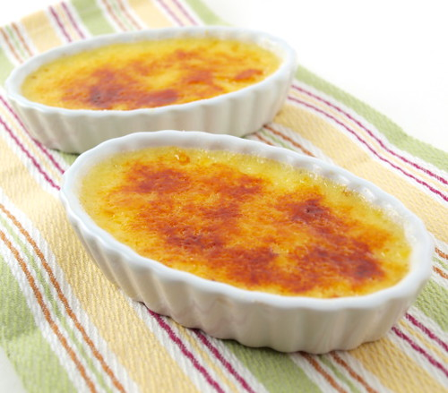 Snowball Creme Brulee