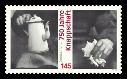 750 Jahre Knappschaft - Briefmarke