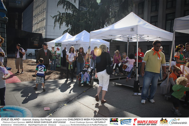EXILE ISLAND-Childrens Wish Foundation-MapleRidge Chrysler-Return It-photos by RonSombilonGallery and PacBlue Priting (1170) by Ron Sombilon Gallery
