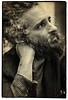 Efrim Menuck (Thee Silver Mt. Zion) (oscarinn) Tags: blackandwhite blancoynegro vintage mexico retrato textures silvermountzion godspeedyoublackemperor portrati efrimmenuck lastfm:event=1554990