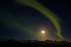 Aurora borealis - Last winter (*Jonina*) Tags: iceland ísland auroraborealis norðurljós moon tunglið night nótt distinguishedpictures distinguishedlongexposure jónínaguðrúnóskarsdóttir 25faves absolutelystunningscapes 500views 1000views 1500views 2500views 3000views