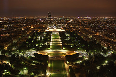 From top of the Eiffel Tower