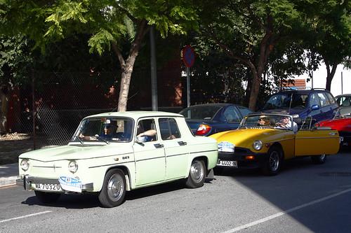 1965 Renault 8 Major. 1965 Renault 8, 1980 MGB