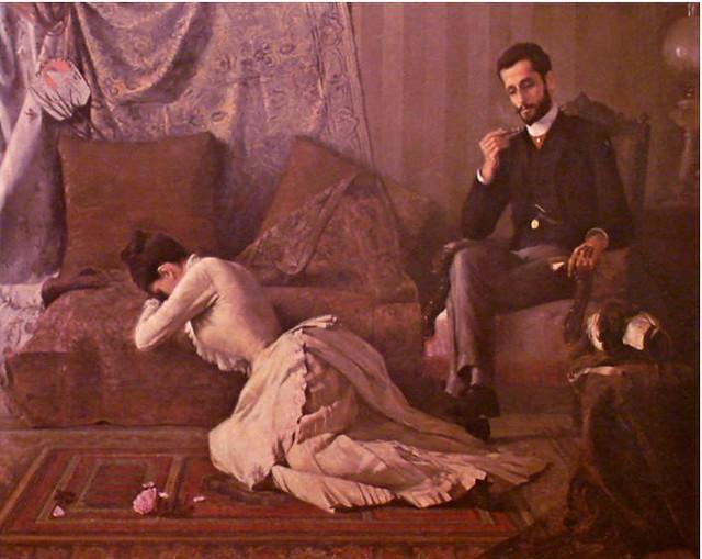Arrufos. Belmiro de Almeida, 1887