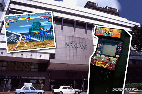Street Fighter at Parklane in the 90s