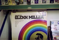 (Laura Manfre) Tags: england film rainbow bestof vinyl charityshop glennmiller nikonem dereham